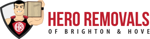 Hero Removals Brighton Logo